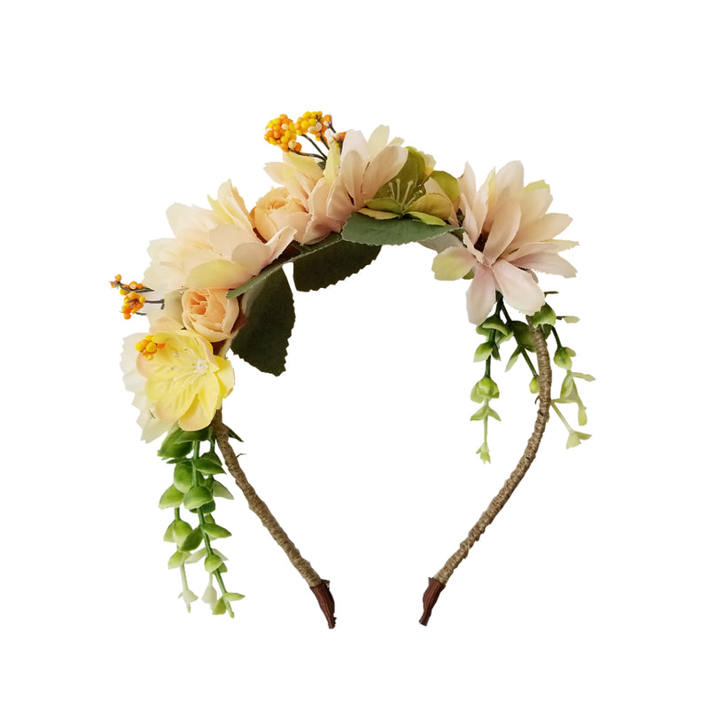 Fairy Crown Headband | Lemon