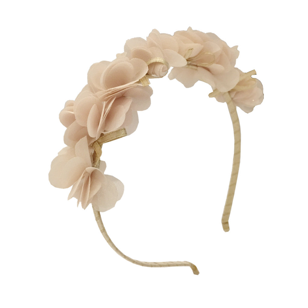 Girls Noisette Hairband Champagne