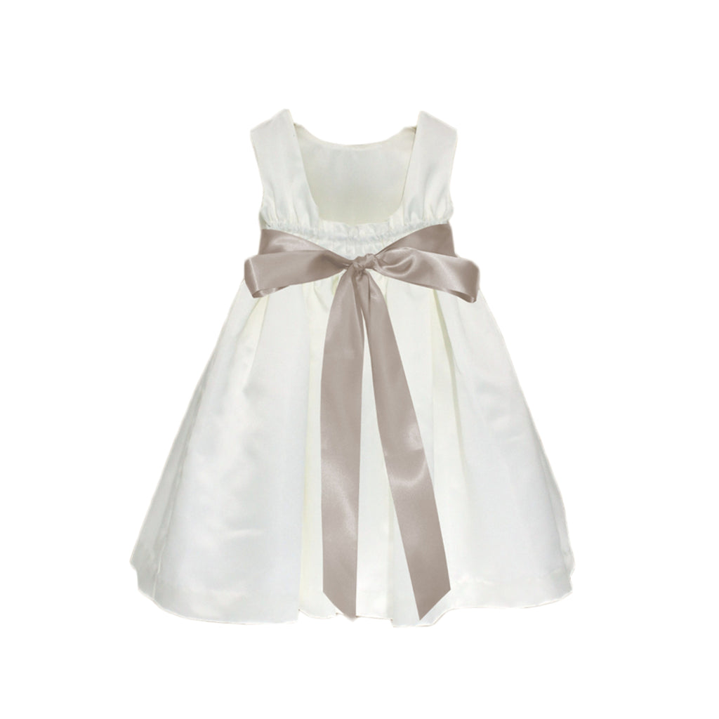 Meringue Satin Dress