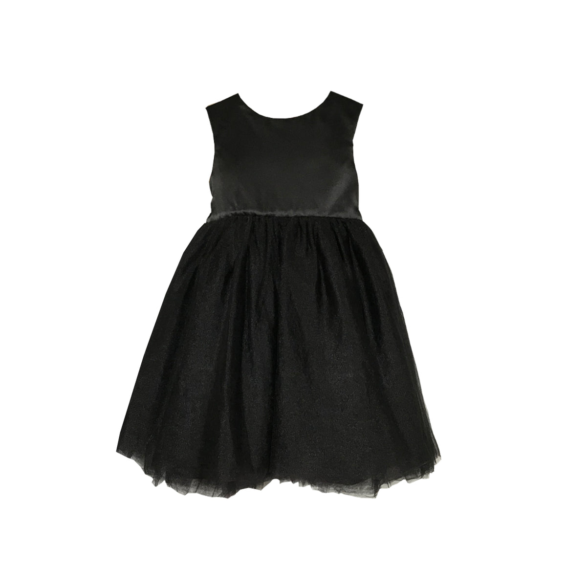 Meringue Tulle Dress | Black