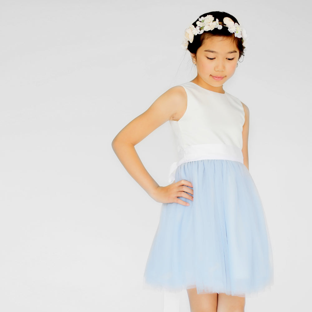 Girls Pavlova Tulle Dress Blue