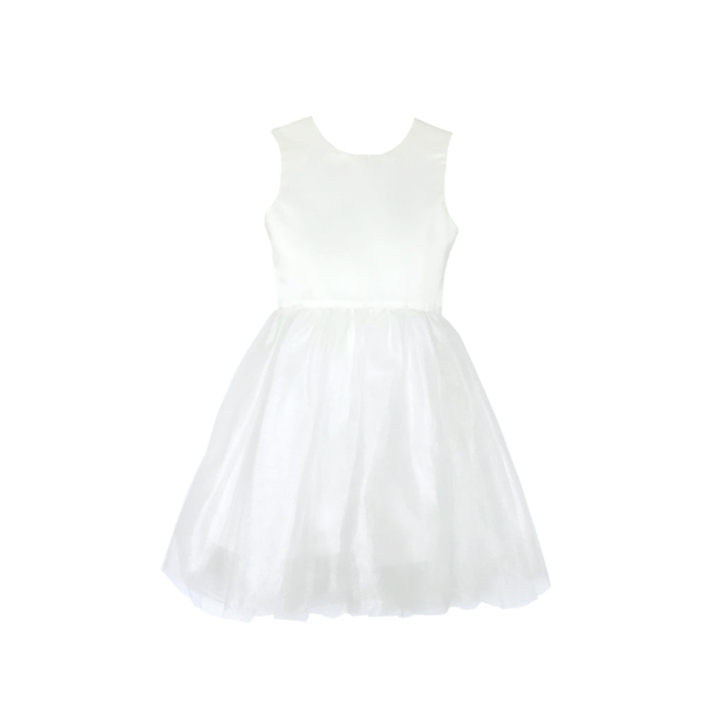 Girls Pavlova Tulle Dress Ivory