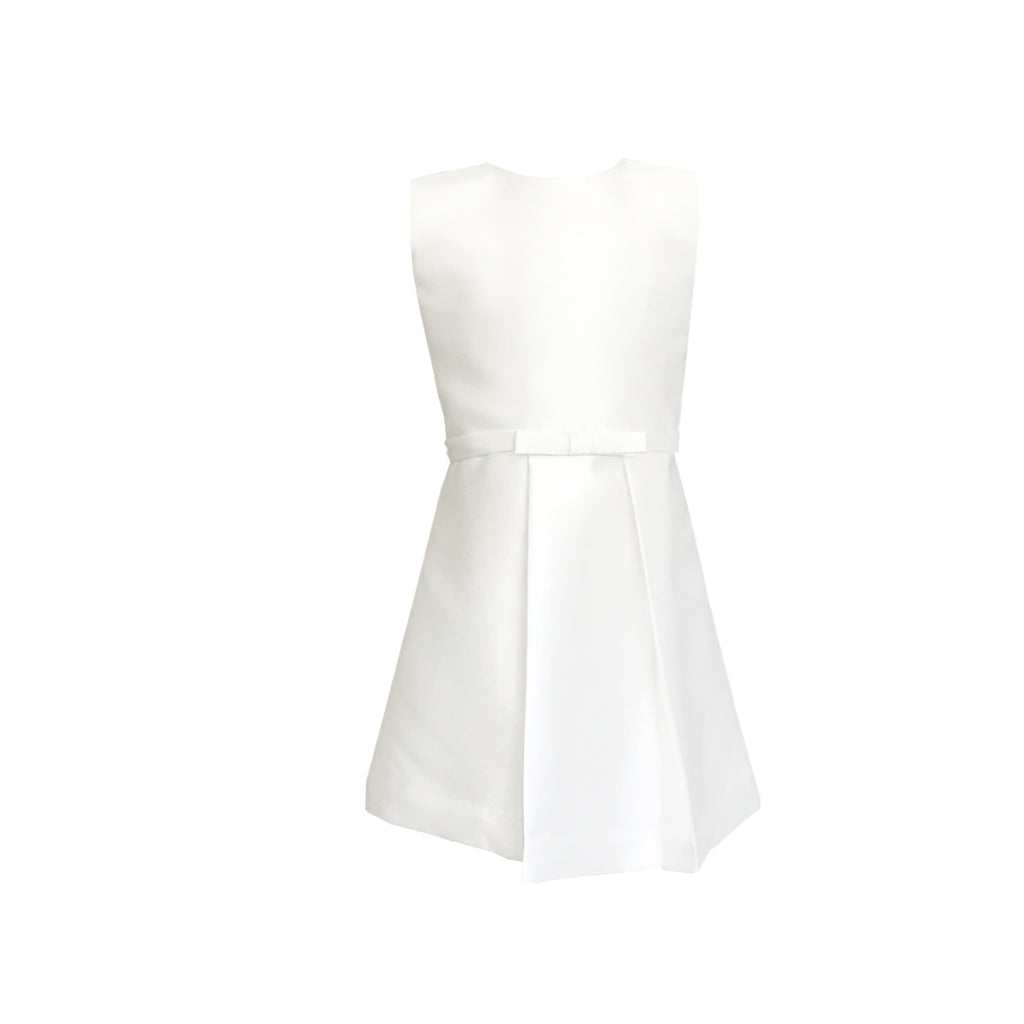 Girls Sable Dress Ivory
