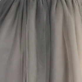 Girls Dress Soft Tulle Swatch Grey