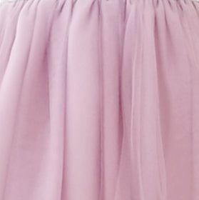 Girls Dress Soft Tulle Swatch Lilac