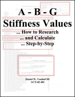 A-B-G Stiffness Values. How to Research and Calculate Step by Step