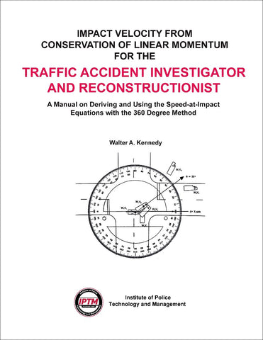 Impact Velocity from Conservation of Linear Momentum for the Traffic Accident Investigator and Reconstructionist