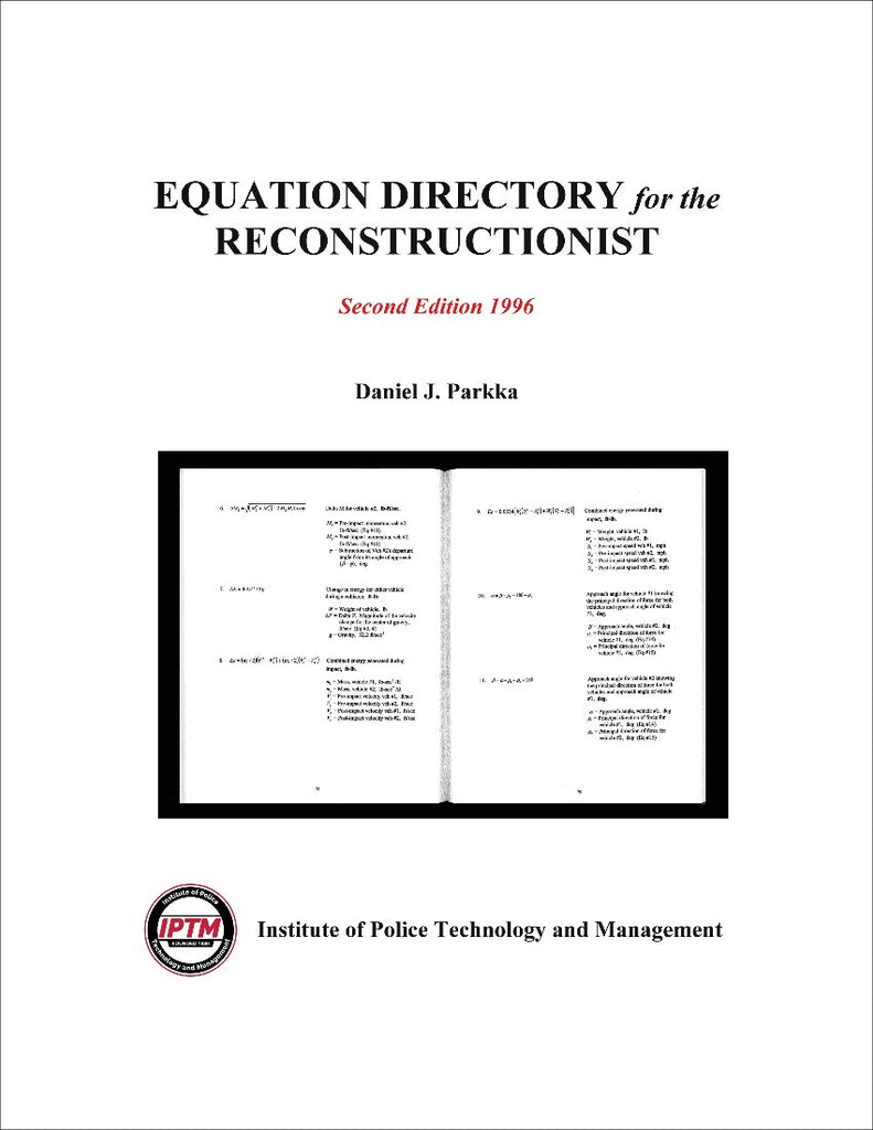 Equation directory for the reconstructionist iptm for Iptm traffic template
