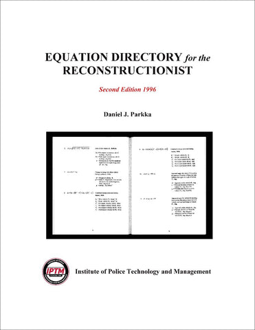 Equation Directory for the Reconstructionist