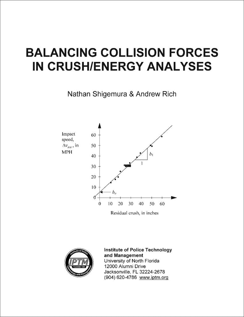 Balancing collision forces in crush energy analysis iptm for Iptm traffic template