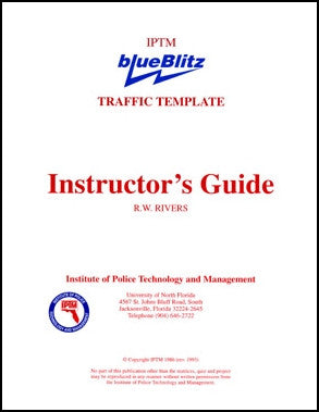 Instructor's Guide for the blueBlitz Traffic Template - US Scale
