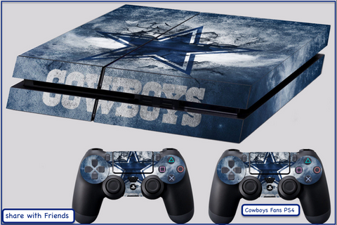 Dallas Cowboys skin for PS4, Stickers 4 dualshock controller