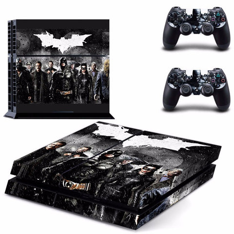 Batman PS4 Skin Black Sticker