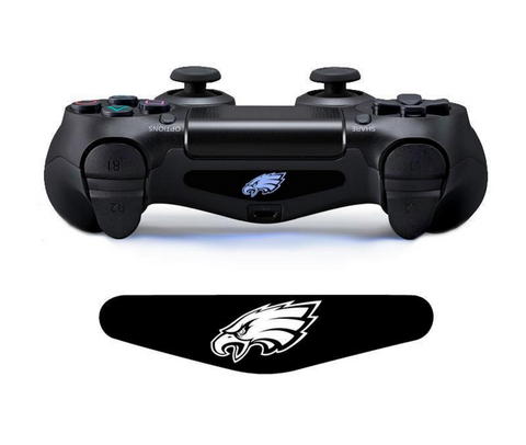 EAGLES CUSTOM PS4 CONTROLLER LED LIGHT BAR DECAL STICKER