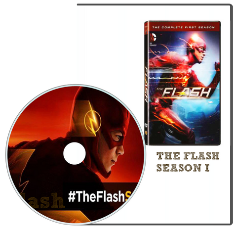 The Flash Complete First Season 1 one (DVD, 2015)