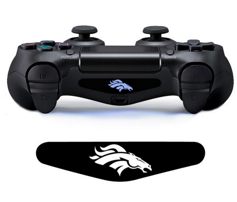 BRONCOS CUSTOM PS4 CONTROLLER LED LIGHT BAR DECAL STICKER