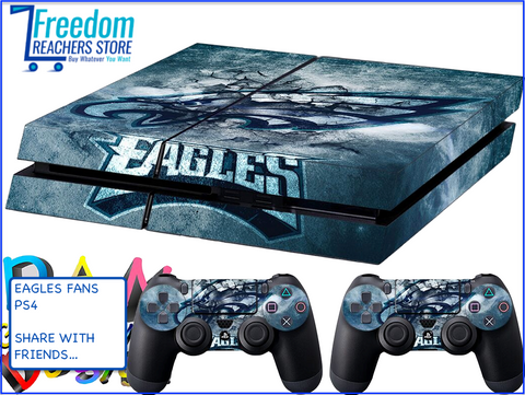 EAGLES SKIN FOR PS4, STICKERS 4 DUALSHOCK CONTROLLER