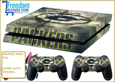 GREEN BAY PACKERS SKIN FOR PS4, STICKERS 4 DUALSHOCK CONTROLLER