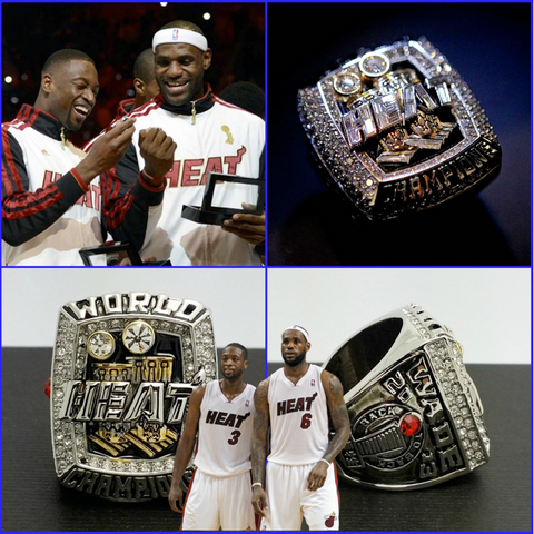 2012 NBA CHAMPIONSHIP RING MIAMI HEAT