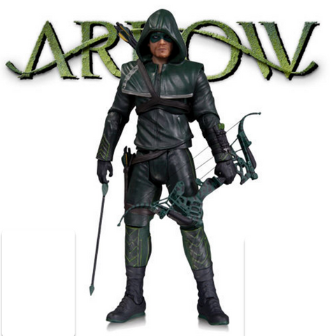 "HOODED ARROW - ARROW TV Series 7"" Action Figure - DC Collectibles CW"