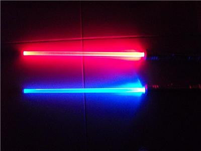 1 STAR WARS FX Led Lightsaber Saber Light Sword - CHANGES COLOR WHEN STRUCK GIFT