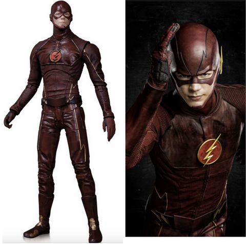 The Flash Action Figure DC Collectibles DCC CW'sTV Series BARRY ALLEN