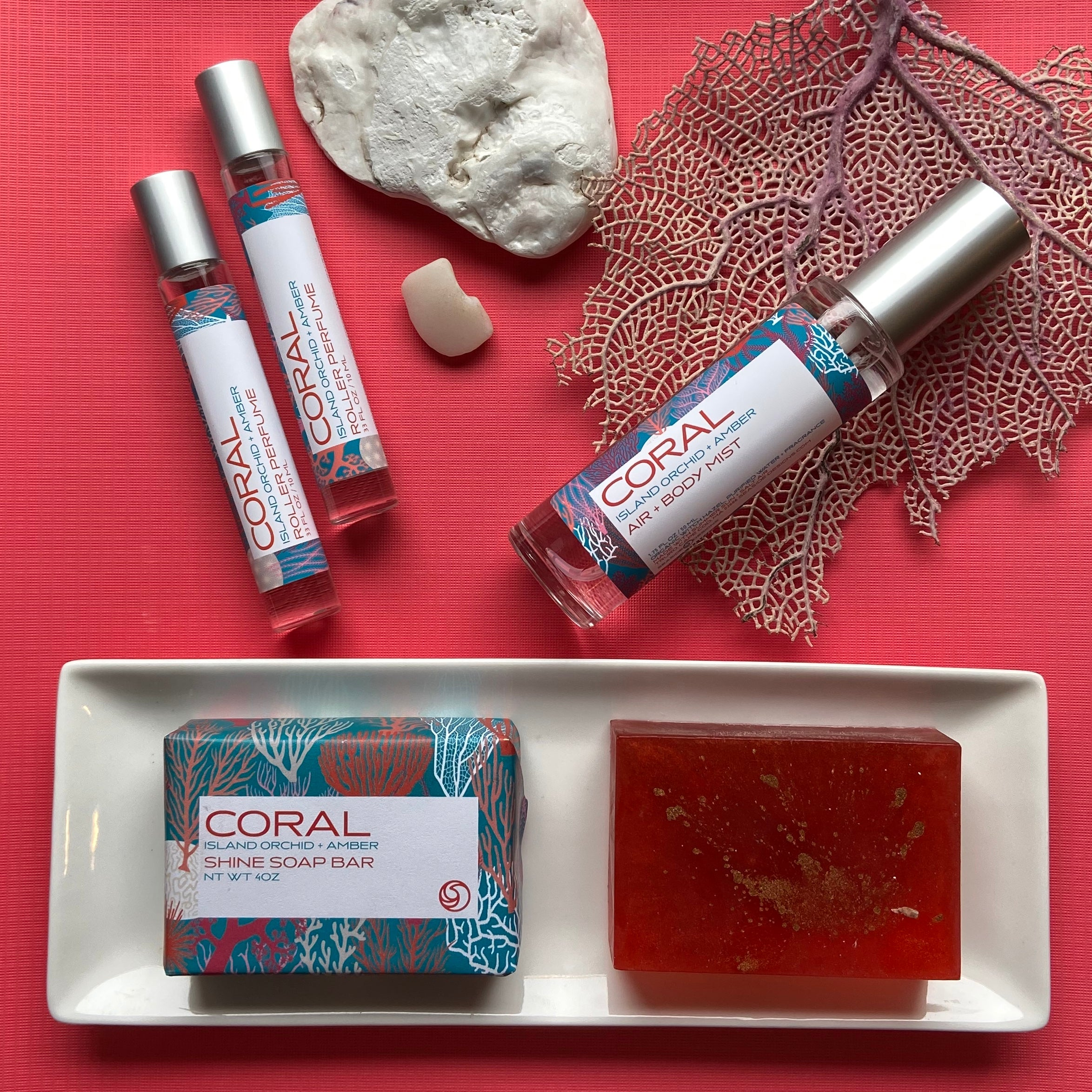 CORAL Self + Surroundings Mist / Wholesale Pack of 4