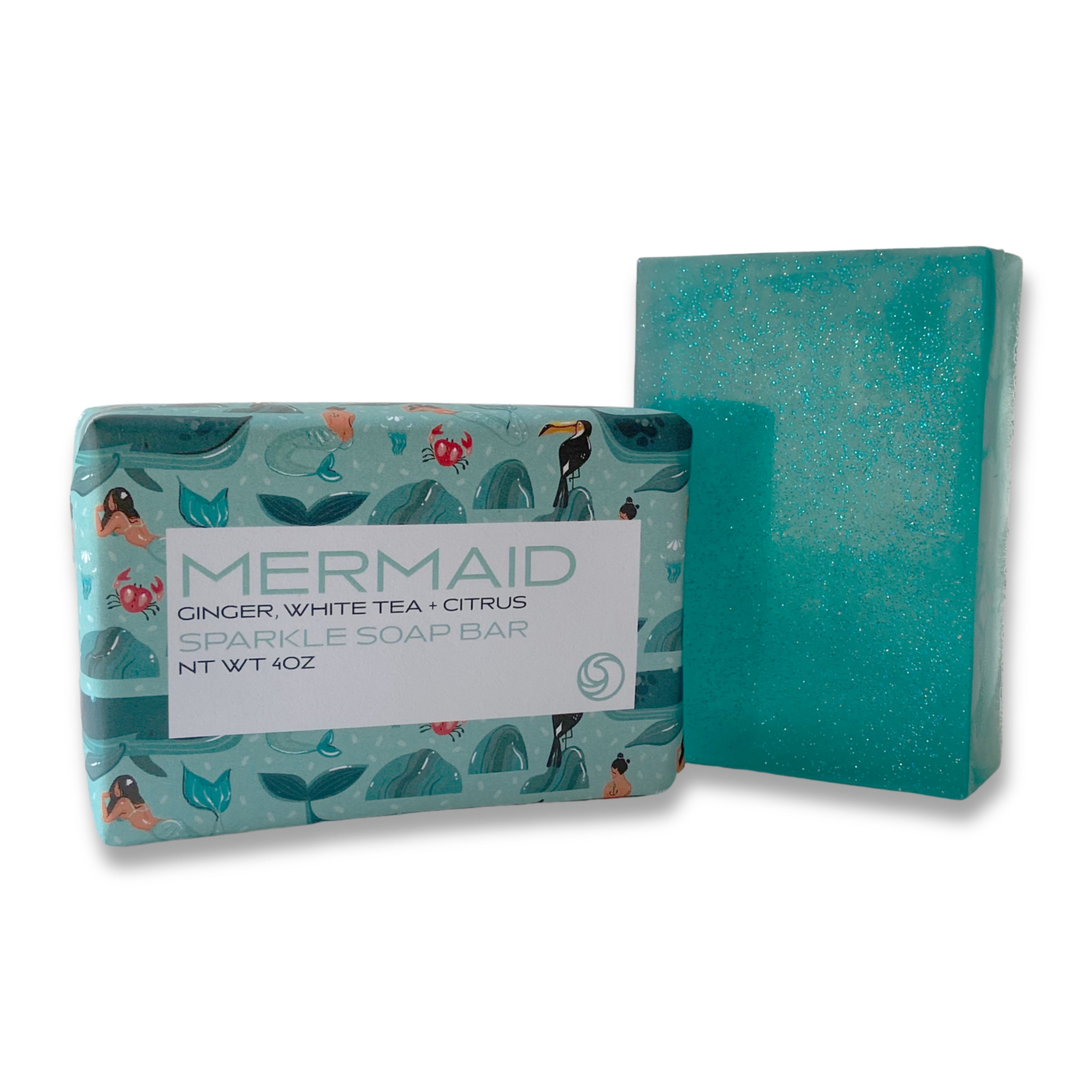MERMAID Sparkle Soap