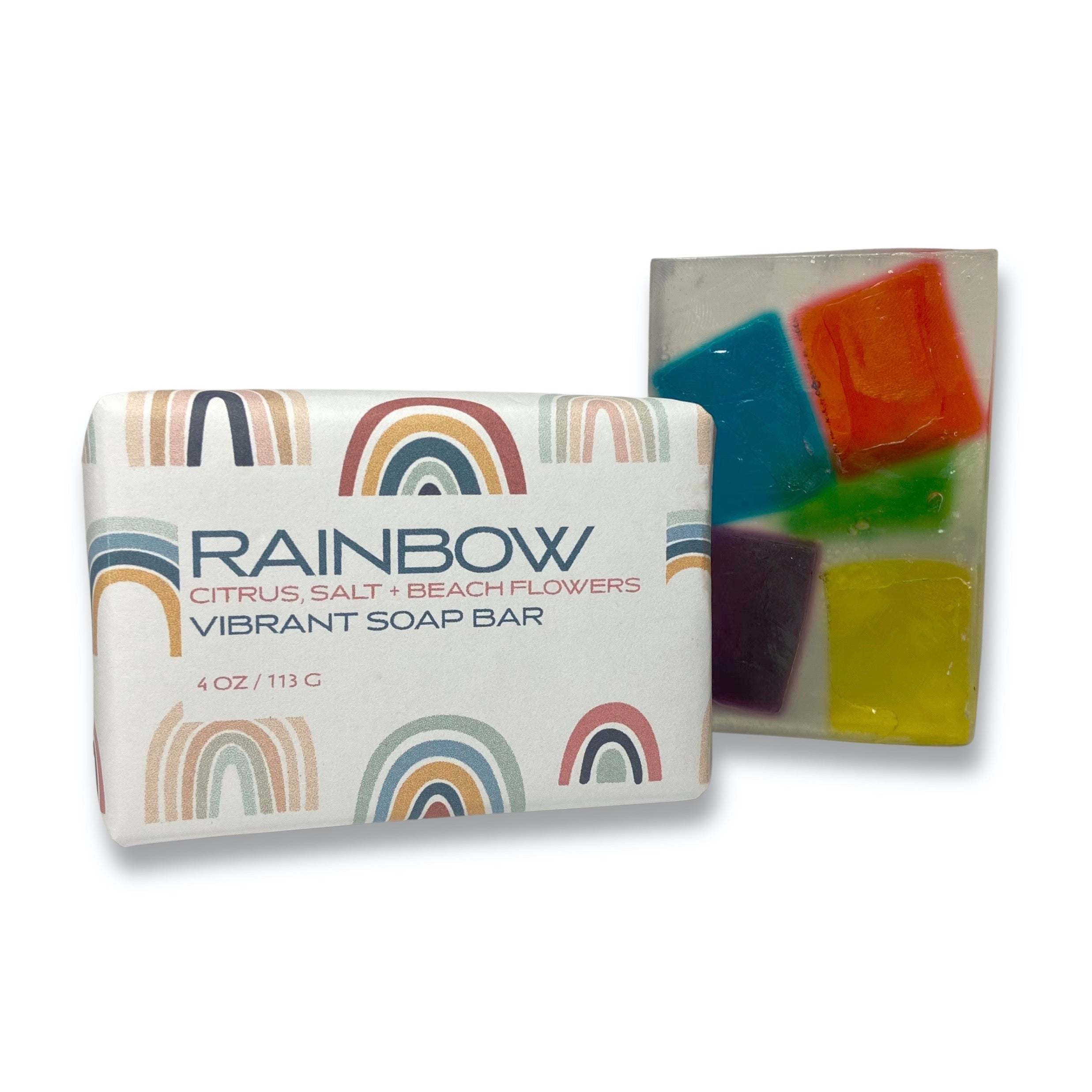 RAINBOW Vibrant Soap Bar