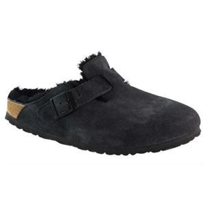 d7663b24c700 Boston Suede Leather Fur Black – BIRKENSTOCK PLUS