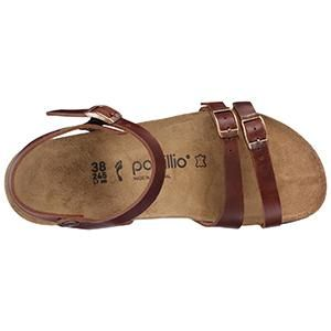 Lana Leather Cognac - Birkenstock Plus