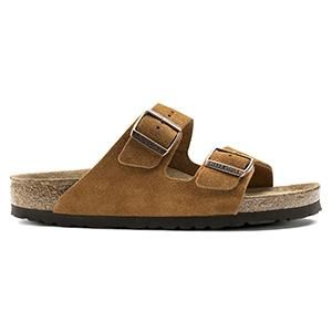 Arizona Soft Footbed Suede Leather Mink - Birkenstock Plus