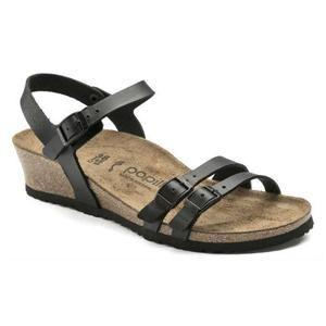 Lana Leather Black - Birkenstock Plus