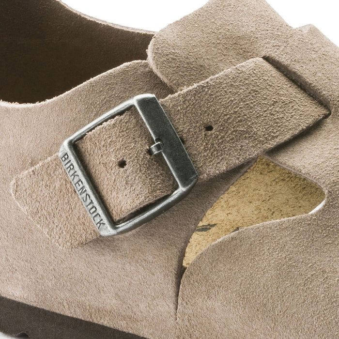 London Suede Leather Taupe - Birkenstock Plus
