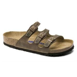 Florida Oiled Leather Tobacco Brown - Birkenstock Plus
