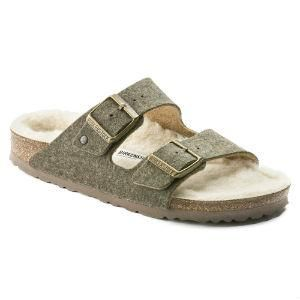 ARIZONA RIVET DOUBLE FACE KHAKI - Birkenstock Plus