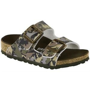 Arizona Kids Dino Camo Khaki - Birkenstock Plus