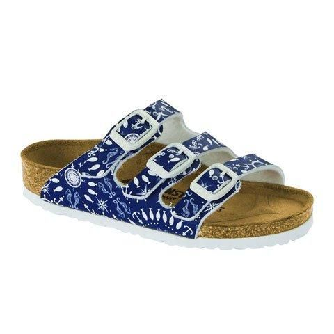 Florida Kids Nautical Print Blue - Birkenstock Plus