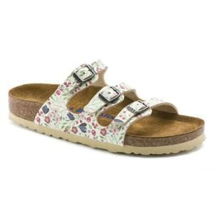 Florida Birko-Flor Meadow Flowers Beige - Birkenstock Plus