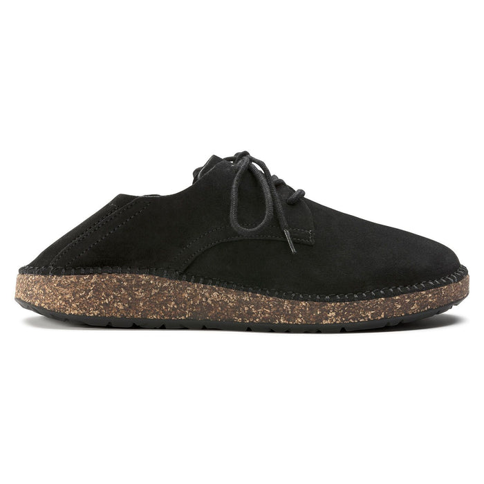 Gary Suede Leather Black - Birkenstock Plus
