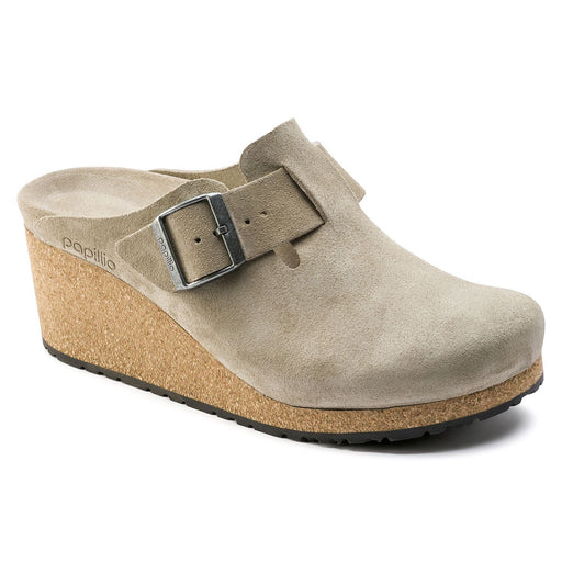 Fanny Swede leather Taupe - Birkenstock Plus