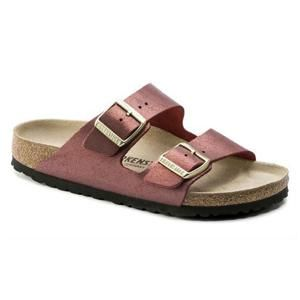Arizona Leather Washed Metallic Port - Birkenstock Plus