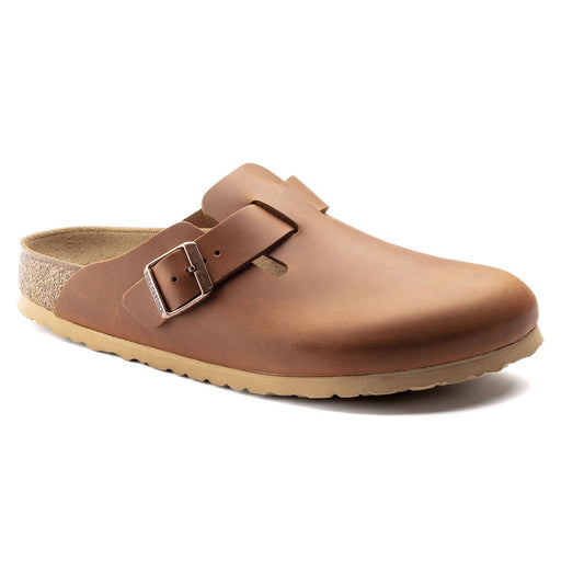 Boston Bs Antique Pull Cognac - Birkenstock Plus