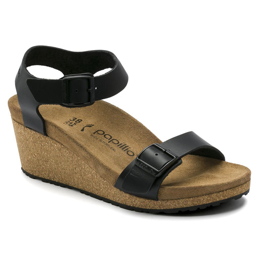 Soley Leather Black - Birkenstock Plus