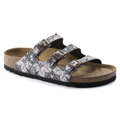 FLORIDA FRESH BOHO FLOWERS NAVY - Birkenstock Plus