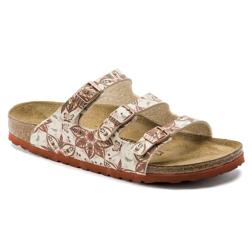 Florida Fresh Boho Flowers Earth Red - Birkenstock Plus