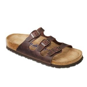 Florida Soft Footbed oiled Leather Habana - Birkenstock Plus