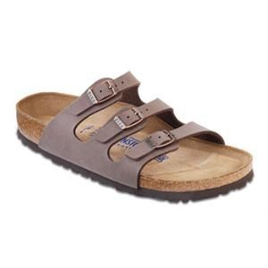 Florida Soft Footbed Birkibuc Mocha - Birkenstock Plus