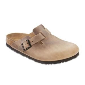 Boston Oiled Leather Tabacco Brown - Birkenstock Plus