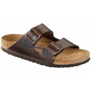 Arizona Soft Footbed Leather Amalfi Testa Di Moro - Birkenstock Plus